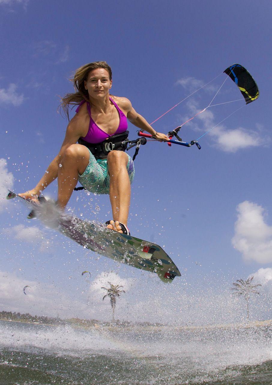 Kristin Boese kiteboard
