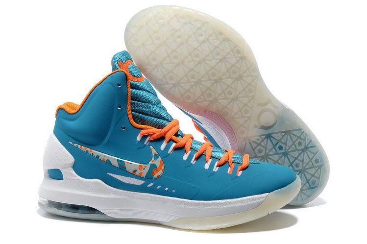 Nike Zoom KD V 5 Easter Turquoise Blue Bright Citrus ...