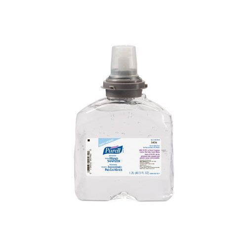 Clear Purell Advanced Instant Hand Sanitizer Case Of 4 Hand