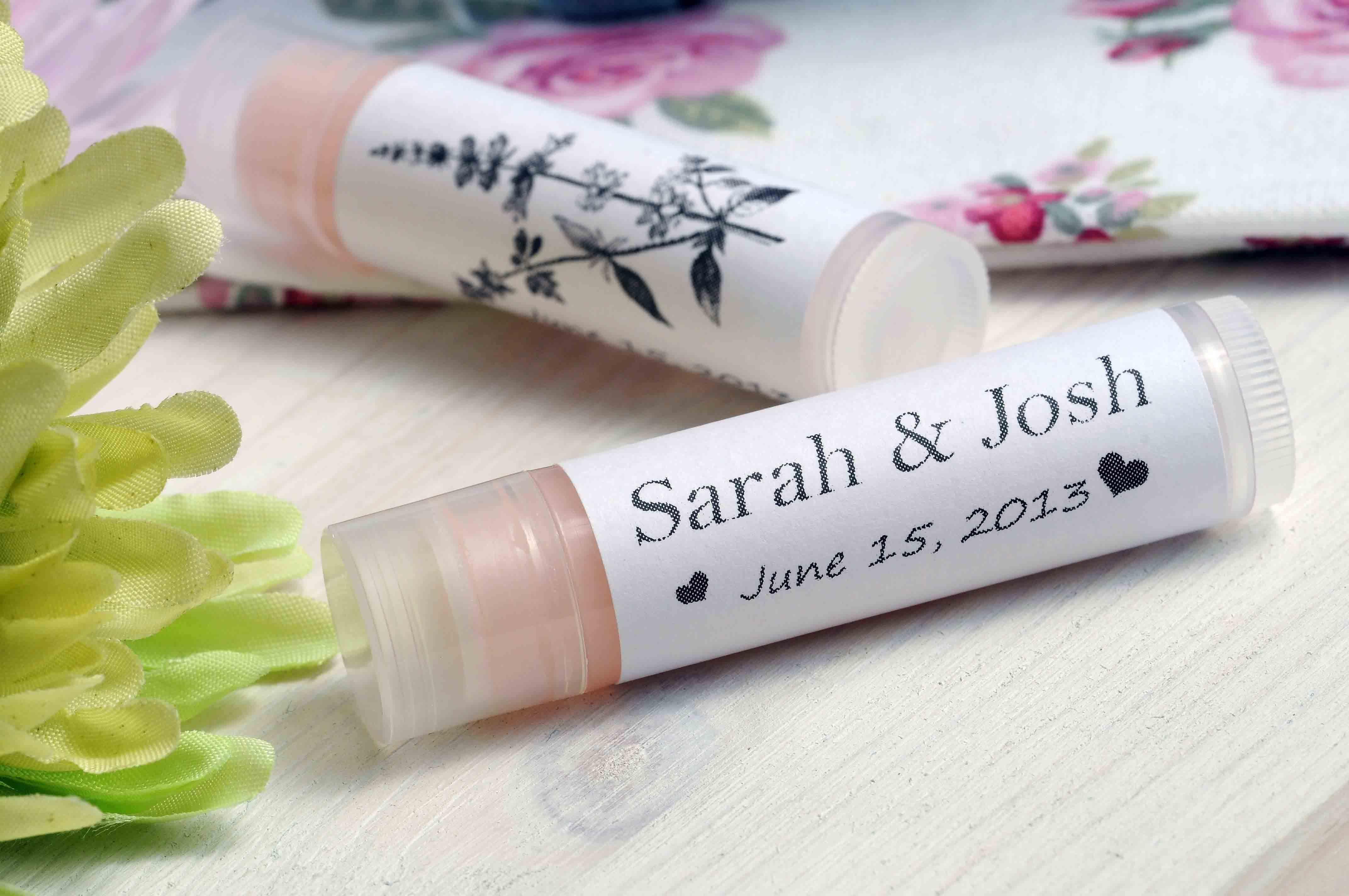 Personalized Lip Balm Favors | Pinterest Mini-Mall Viral Board ...