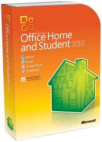 Microsoft Office Home  Student 2010 - 3PC/1User (Disc Version) by - spreadsheet compare 2013 64 bit