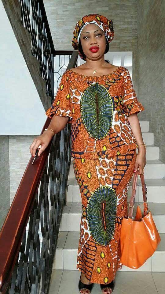 modèle de pagne ivoirien robe - Recherche Google   Mode ...