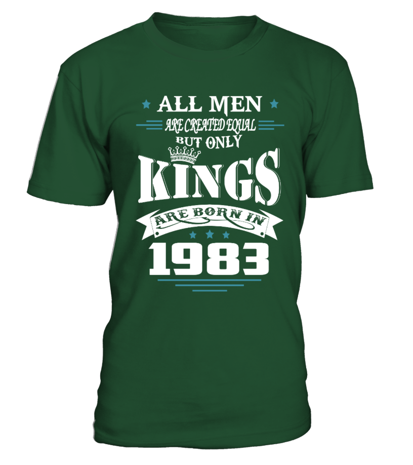 Kings are born in 1983  #gift #idea #shirt #image #funny #job #new #best #top #hot #military