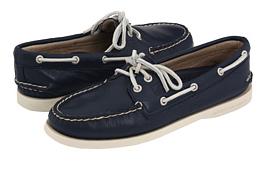 navy sperrys