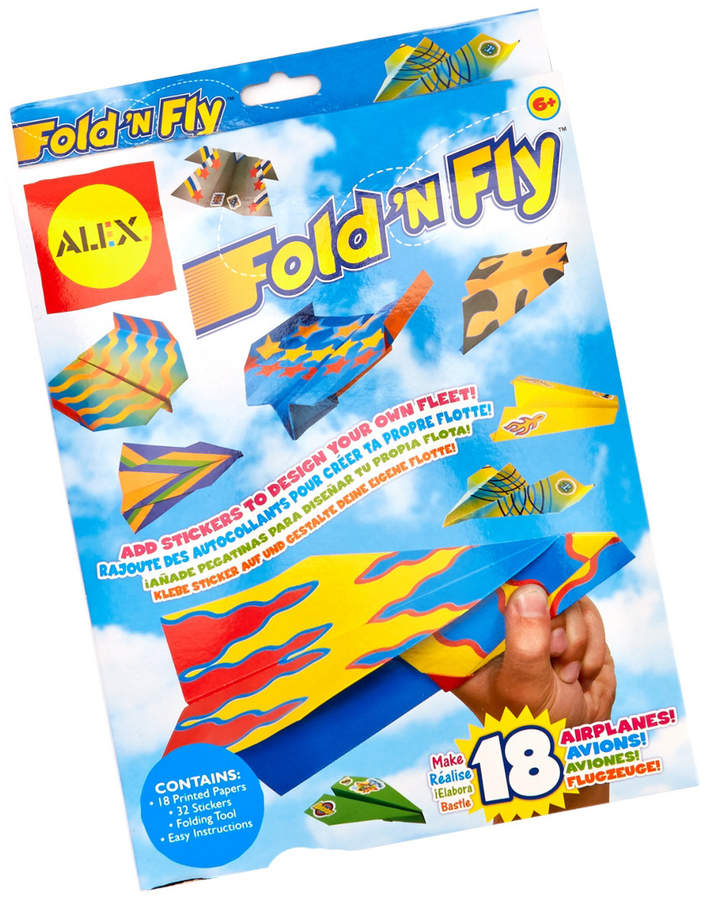 alex fold n fly paper airplane kit products in 2018 pinterest