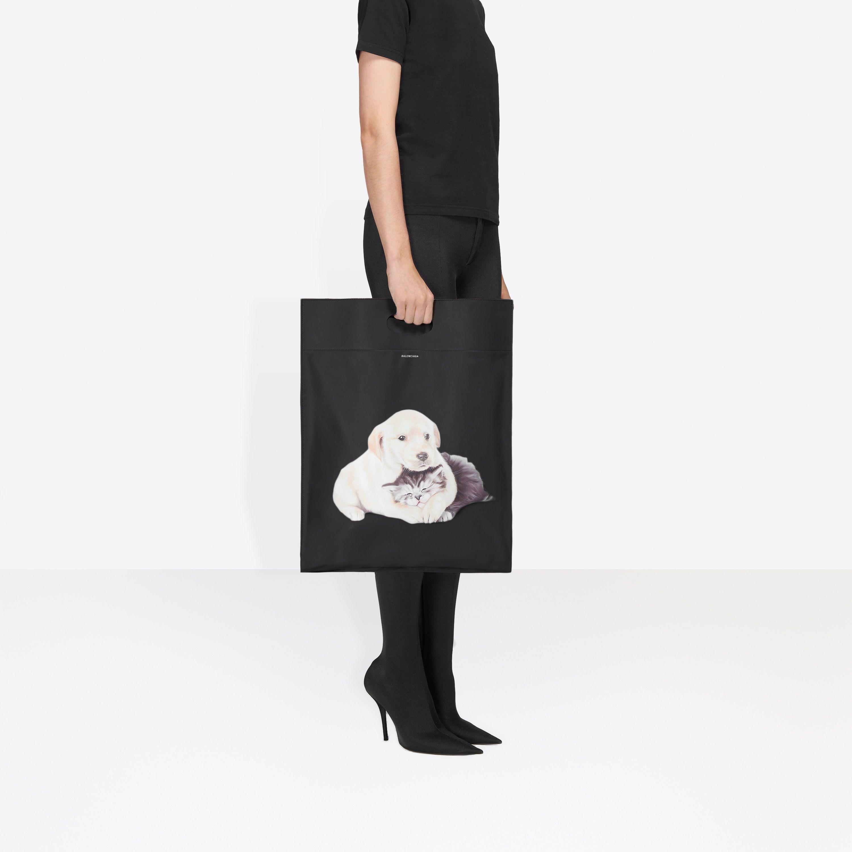 Bolsa De Plastico Para Cachorros Y Gatito Shopper M Cachorros Bolsos Bolsas De Plastico