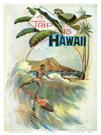 Vintage Hawaiian Posters Decorate Your Home With Vintage