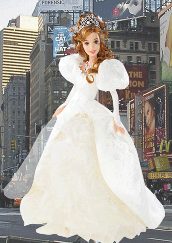 doll of giselle from disneys enchanted dolls