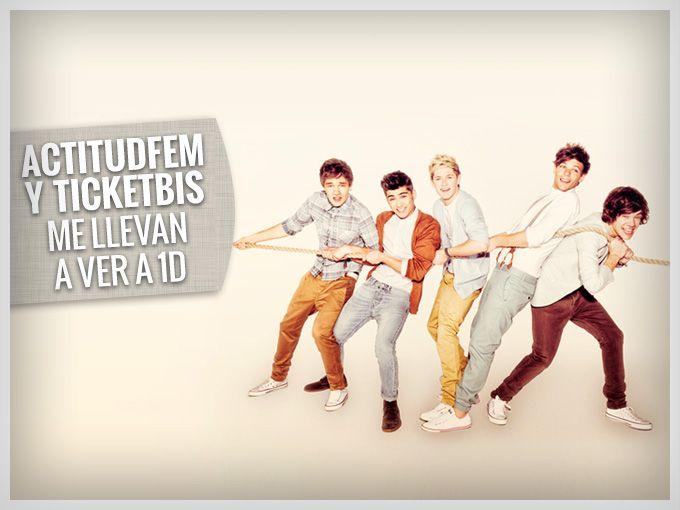 ¡Gana boletos para One Direction!