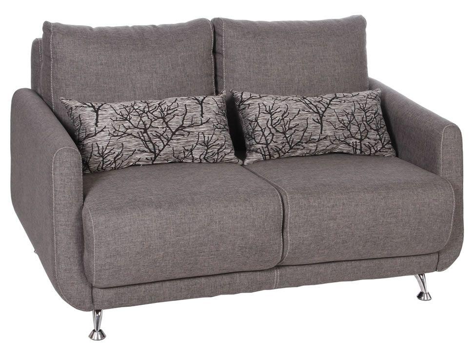 Love seat santino petitgris sofa gris moderno sala for Sofas grises decoracion