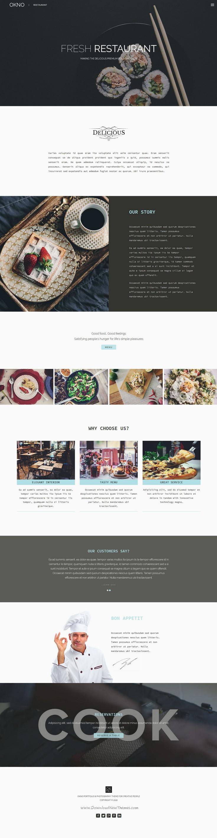 OKNO: Responsive Multipurpose HTML5 Template | Template