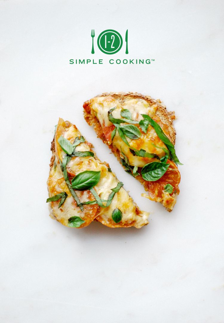 PIZZA TOAST — 1-2-Simple Cooking