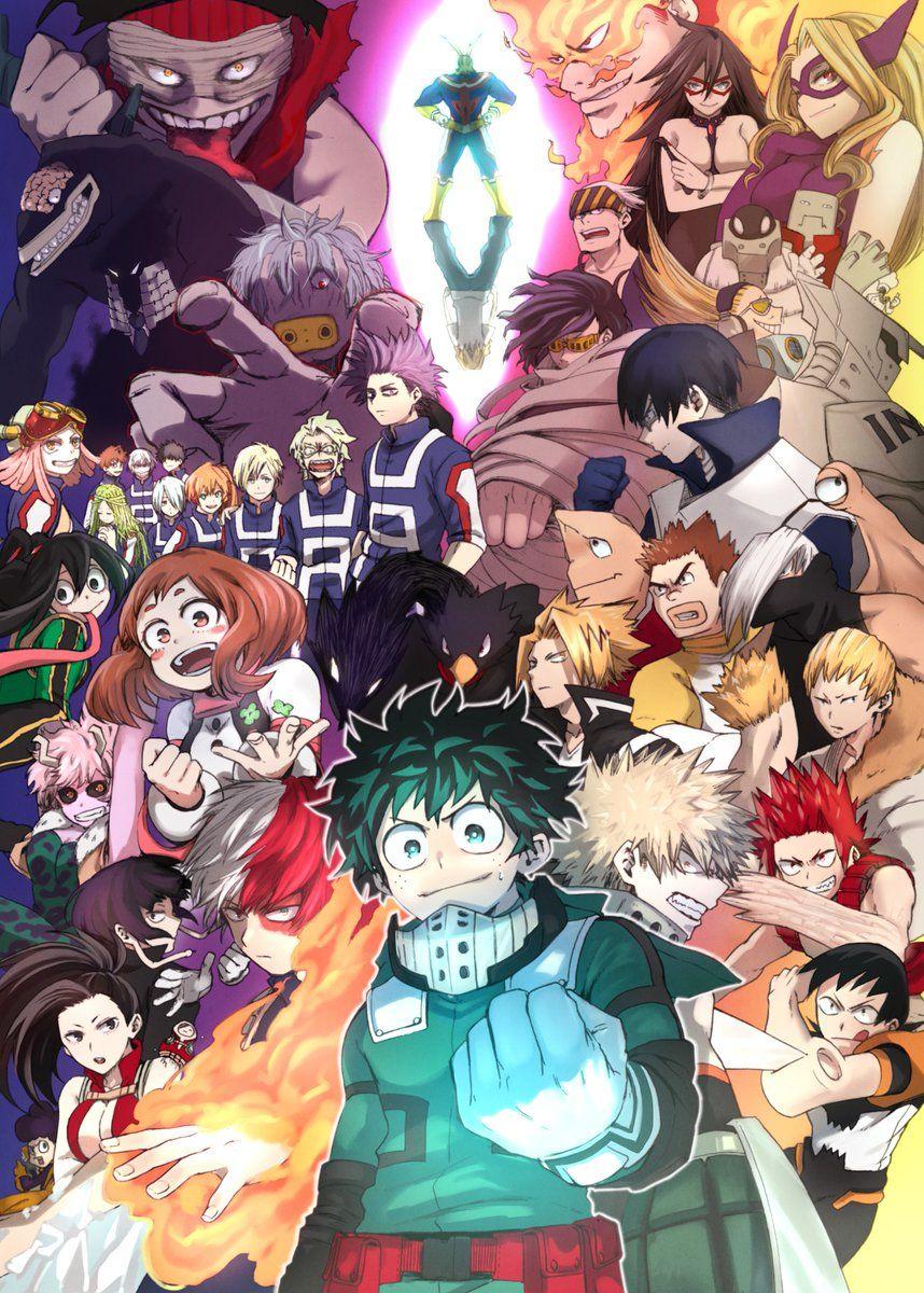 いちこ On Twitter Hero Wallpaper My Hero Anime
