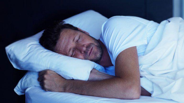A man falls asleep