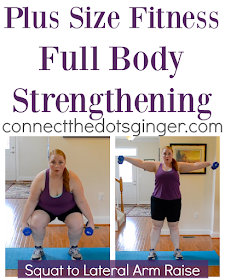 plus size fitness total body strengthening exercises  at