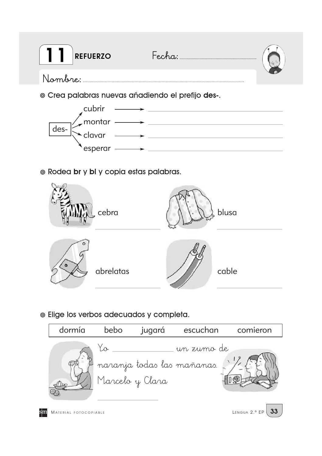 Cuaderno Repaso 2o Primaria