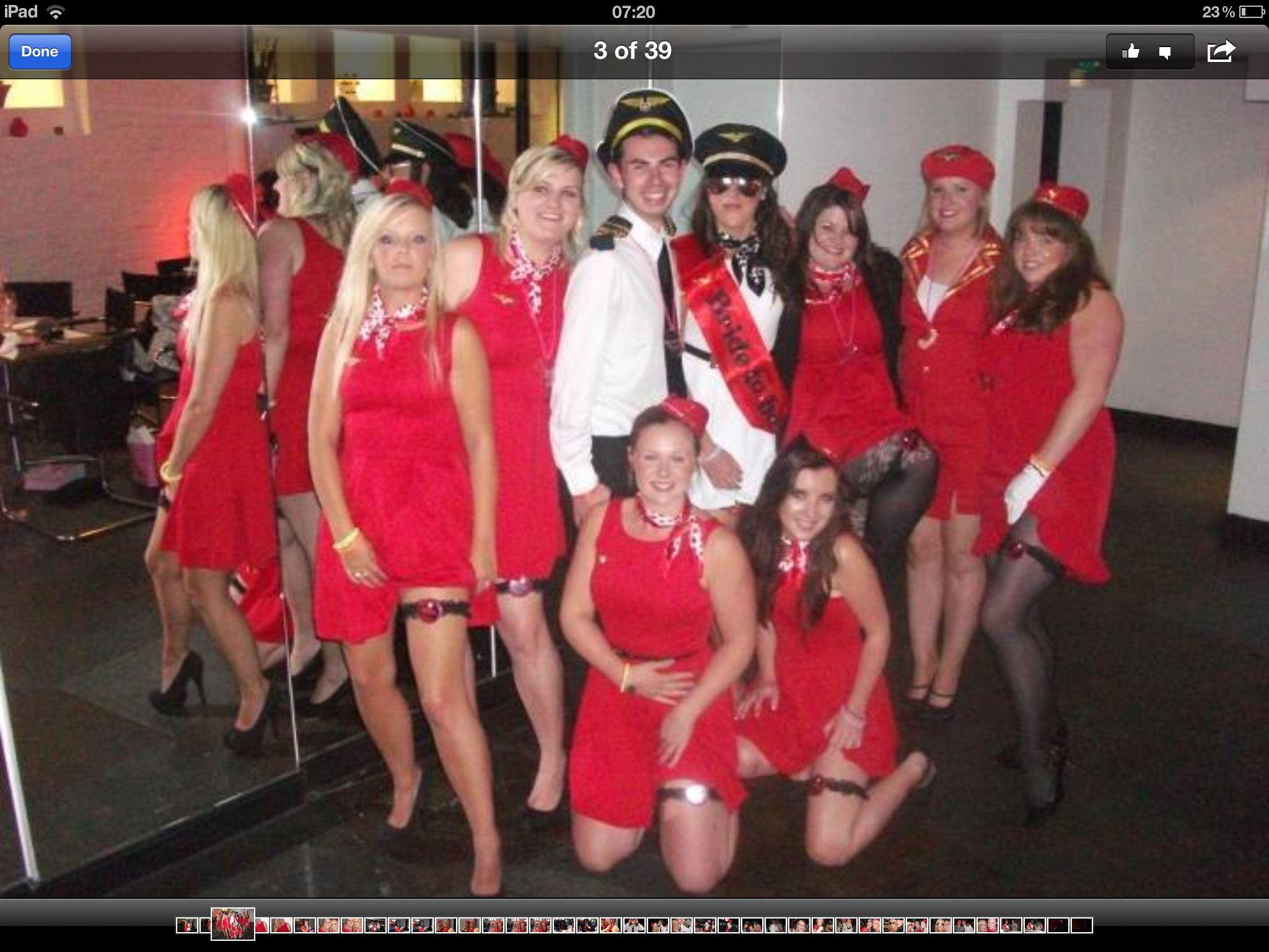 Hen Party..... Virgin Atlantic Air Hostess And Me (the