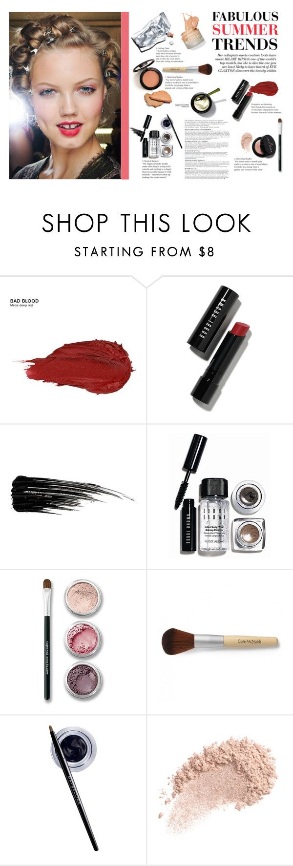 """""""#226"""" by heycher on Polyvore featuring bellezza, Prtty Peaushun, Urban Decay, Bobbi Brown Cosmetics, Bare Escentuals, Maybelline, Anja e Vagabond"""