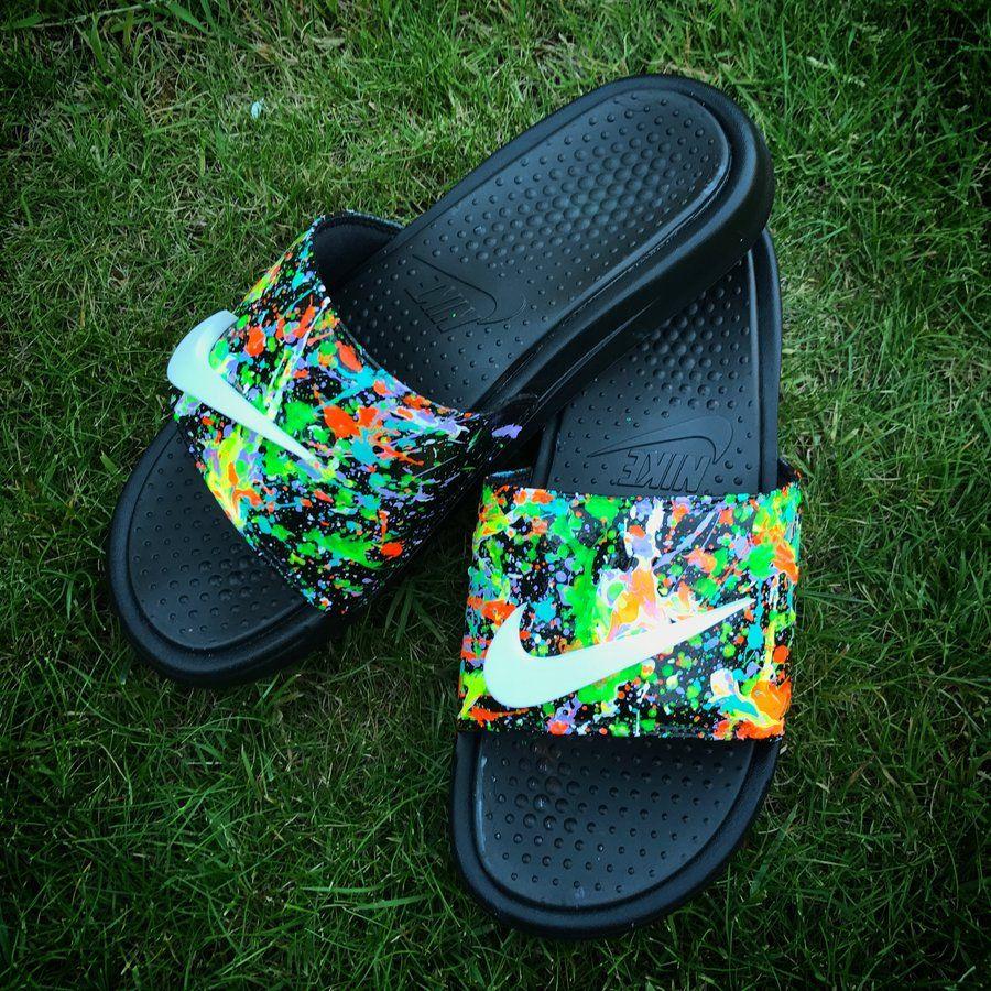 Products | Nike slides, Nike slippers, Custom shoes