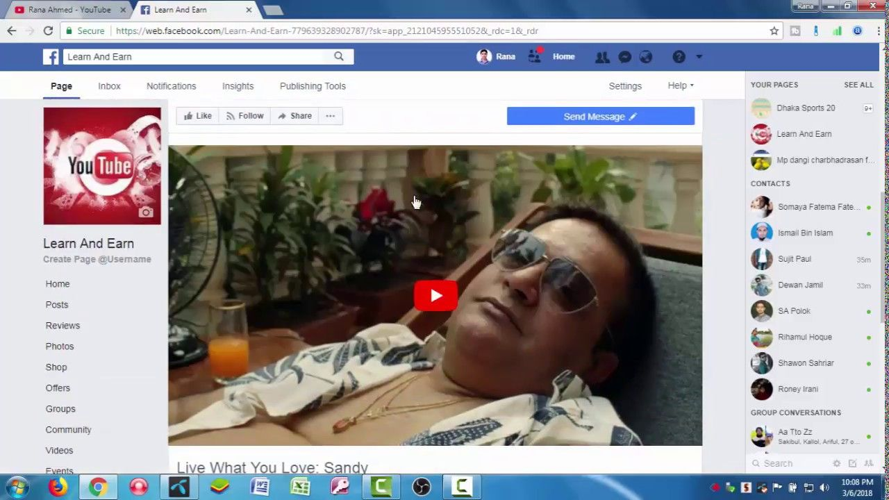 Learn How to add youtube tab to your facebook page & get