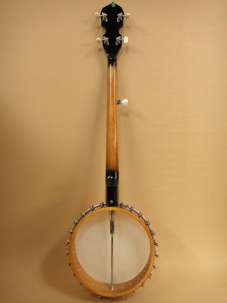 Caraya BJ-005-OB Open Back 5-String Banjo + Gig Bag