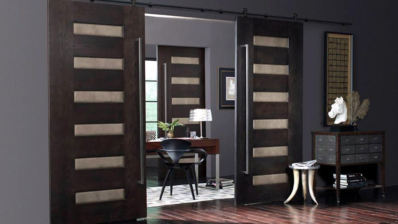 Trustile Modern Door 6100 In Dark Stained White Oak By Doors Denver Jpg 1 360 768 Pixels