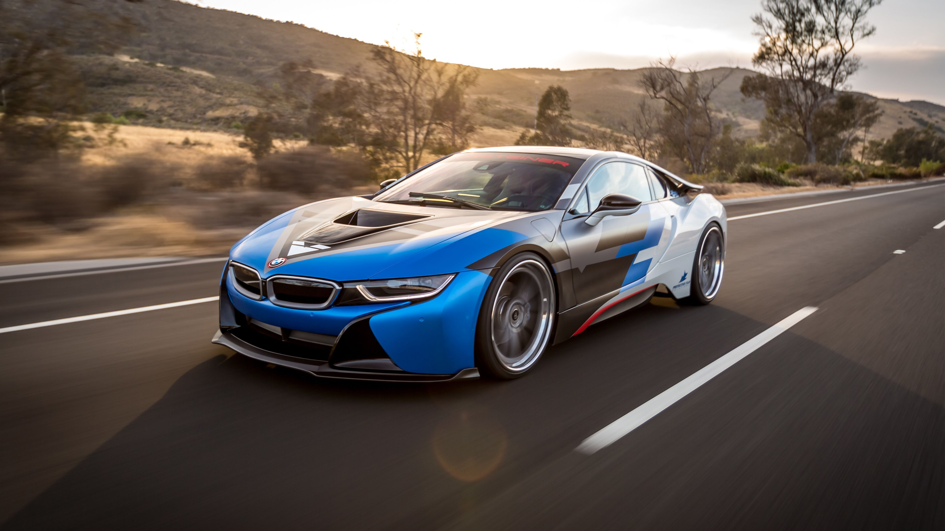 3840x2160 Bmw I8 Vorsteiner 4k Wallpaper Hd Car Wallpapers Id