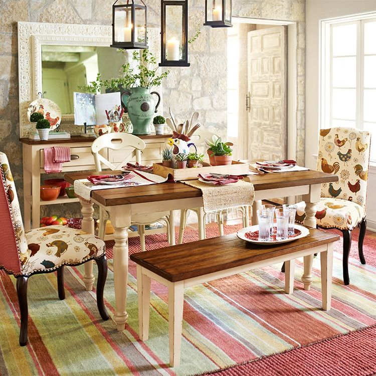 Dining Room Pier One Farmhouse Dining Set Dining Room