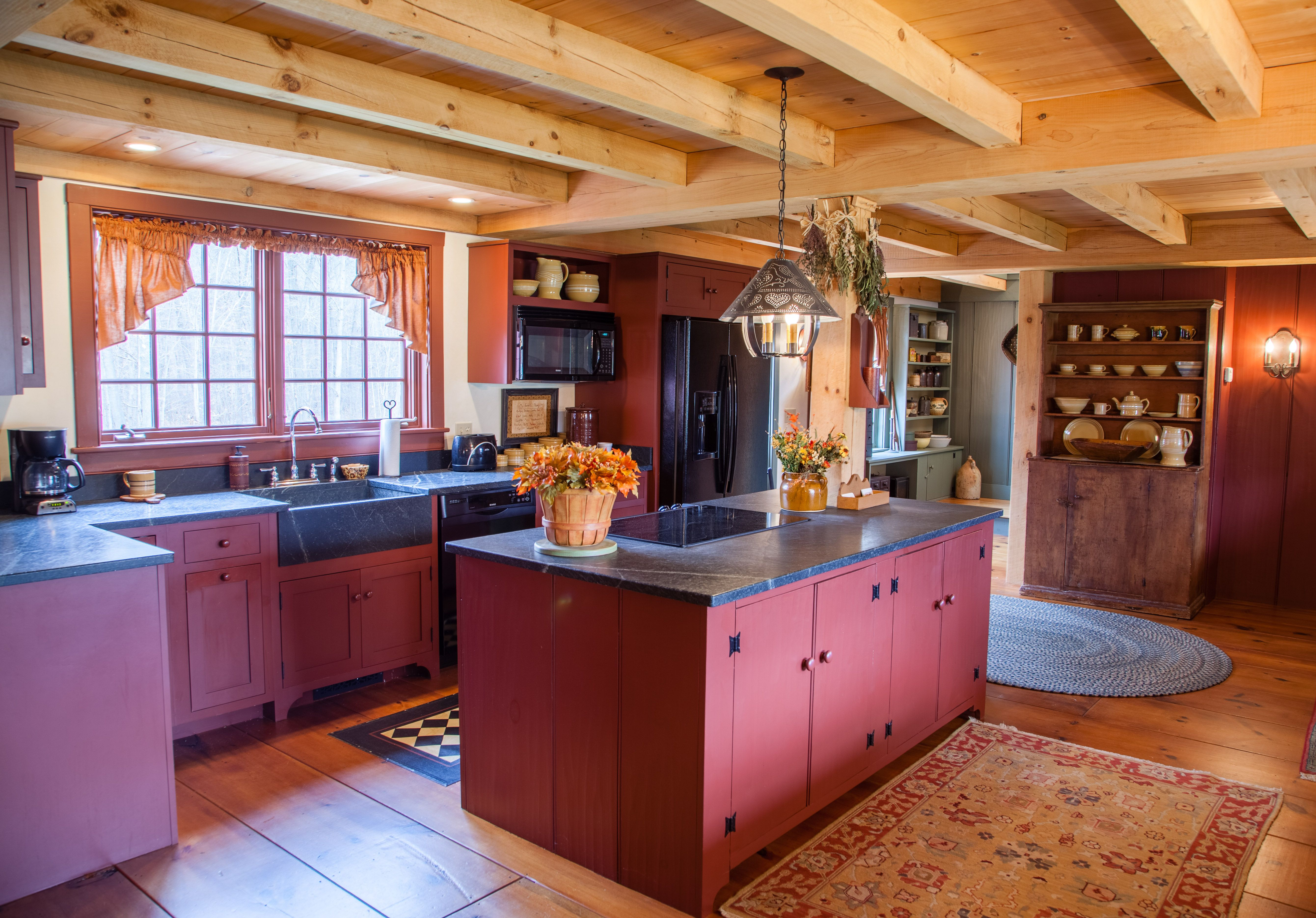 The Kitchen in our model home, with some beautiful