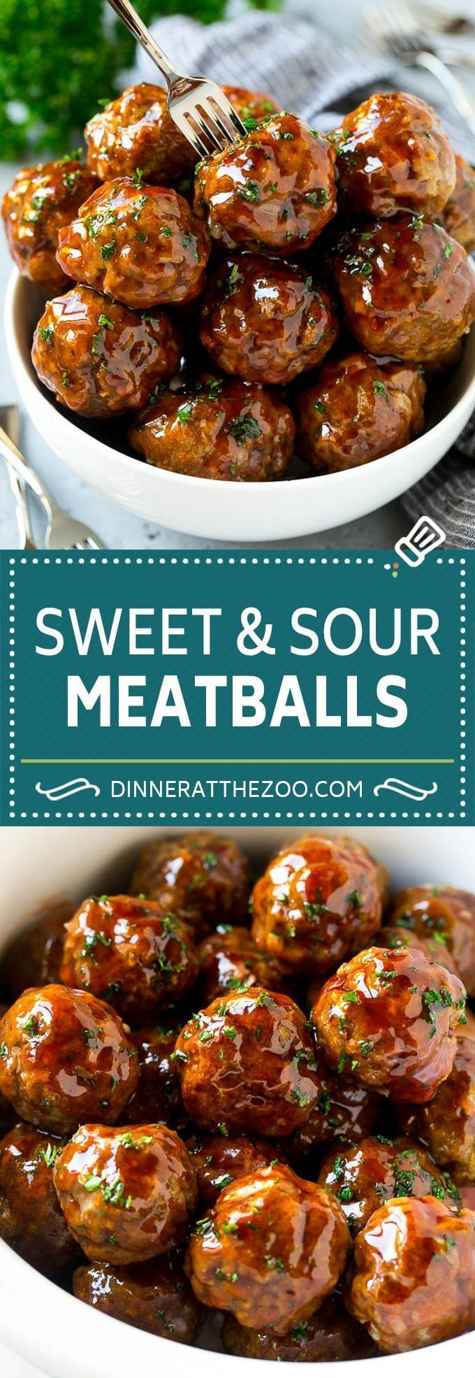 Sweet and Sour Meatballs Recipe | Slow Cooker Meatballs | Crockpot Meatballs | Cocktail Meatballs