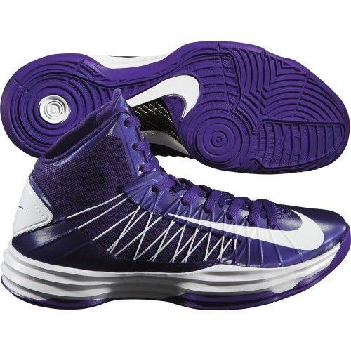 Women\u0027s NIKE HYPERDUNK 2012 TB Basketball Purple Shoes Lunarlon 5