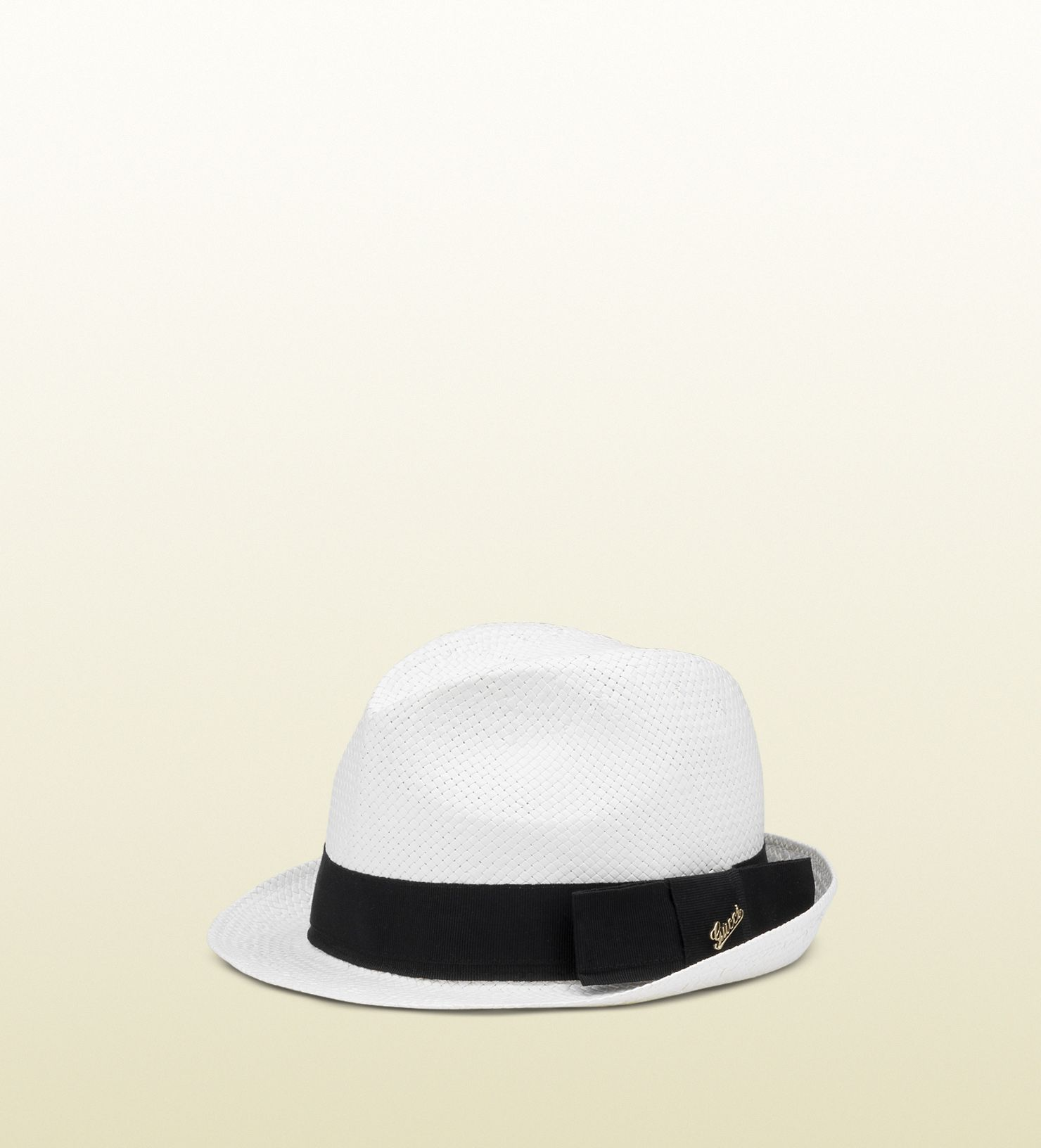 Panama hat with gucci script logo ornament.   Fashion   Pinterest ... b97022147b3