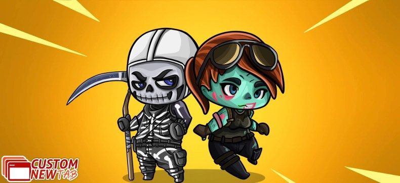 Fortnite Cartoon Skins Wallpaper Theme Epic Games Fortnite