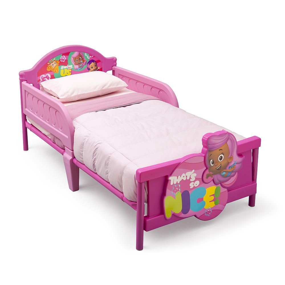 Nickelodeon Bubble Guppies 3D Toddler Bed   Delta   Toys. Nickelodeon Bubble Guppies 3D Toddler Bed   Delta   Toys  R  Us