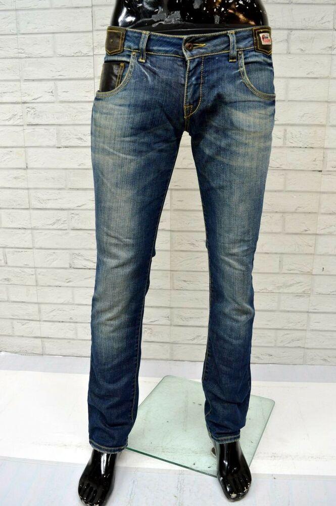 wholesale dealer dd057 e2ba2 Jeans ROY ROGERS GRACE Uomo Taglia 32 Pantalone Gamba Dritta ...
