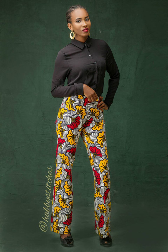 71ccac8ebb751 Kobe African Pants    African print pants