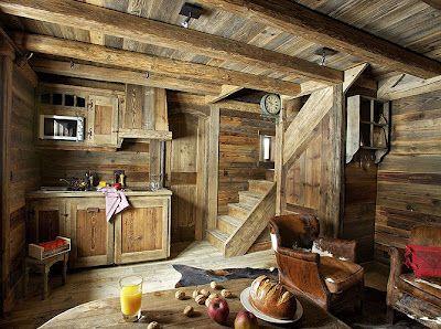Una casa in montagna tra il classico e il moderno. Cabin Case Di Legno Arredamento Di Montagna Baite