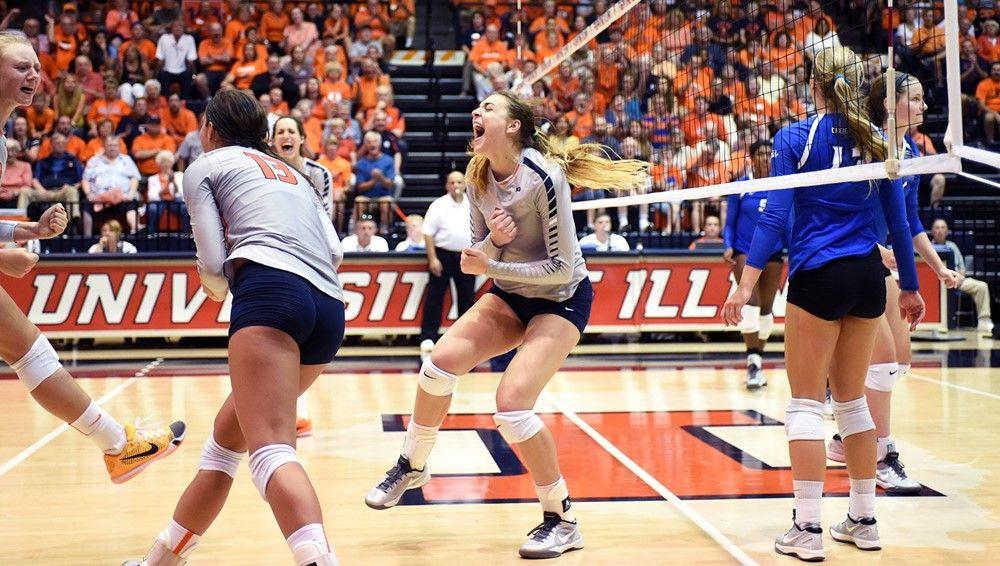 Illinois Athletics Volleyball News Athlete Volleyball