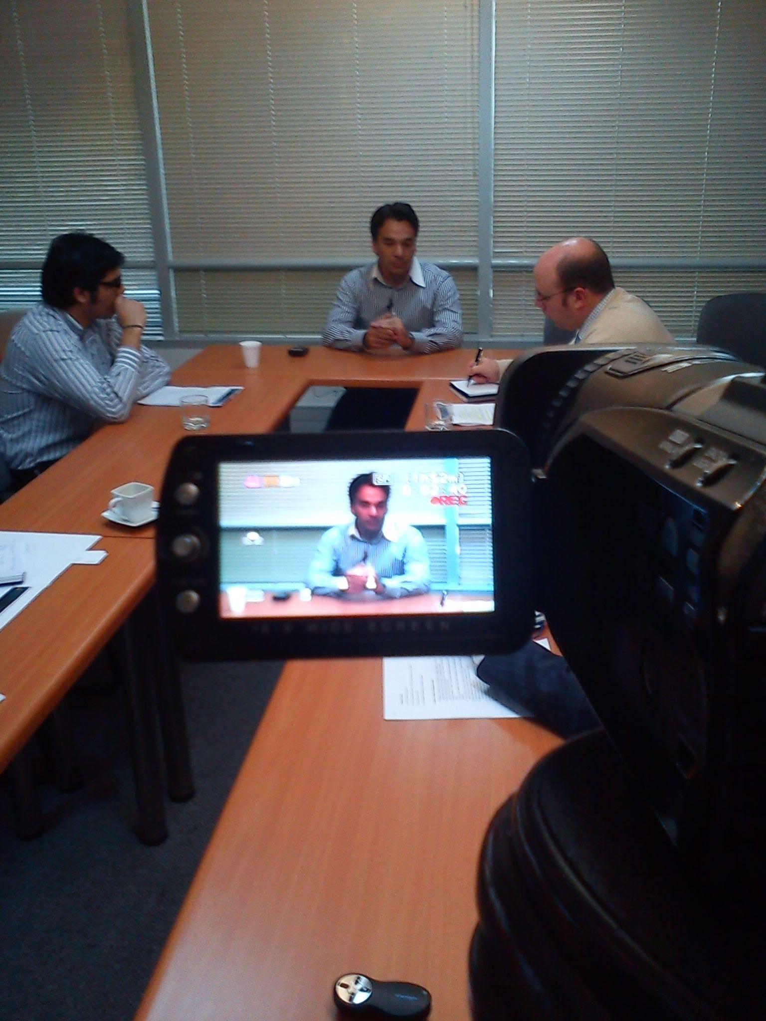 Entrevista Ejecutivos Alcatel Lucent