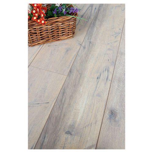 Renovation Rumble Kitchen: Quickpro Elegant Washed Oak Laminate Flooring 8mm