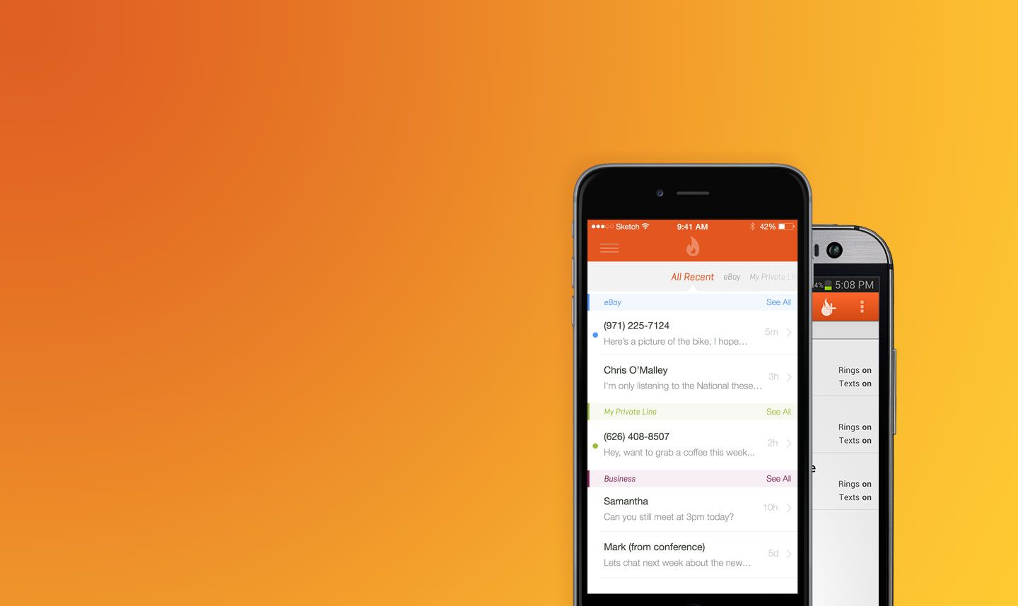 Burner is a privacy layer for your phone. Create unlimited