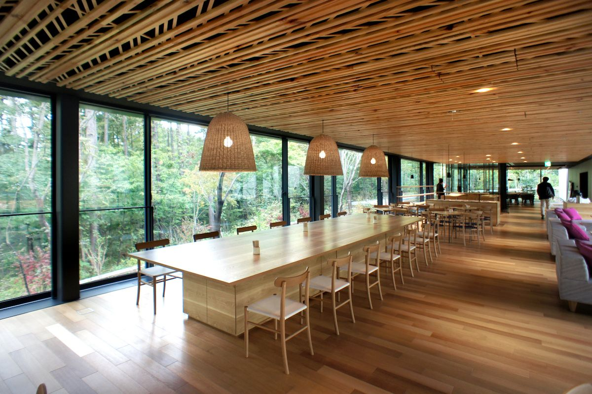 japan-architects.com: 永山祐子建築設計+竹中工務店による「女神の森 ...