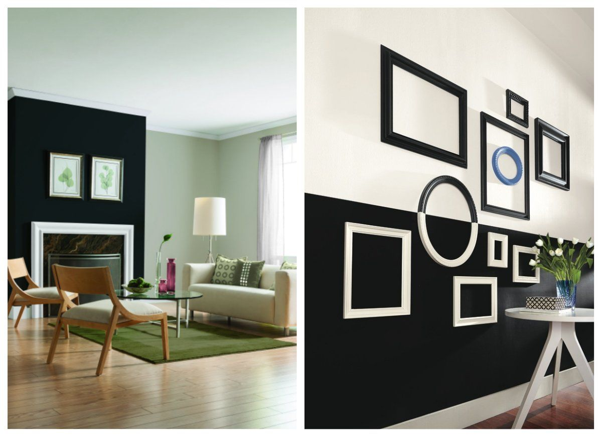 9 Bold Rooms That Will Make You Rethink Black Paint Black Accent Walls Paint Your House Accent Wall Bedroom