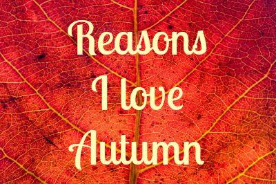 reasons i love autumn