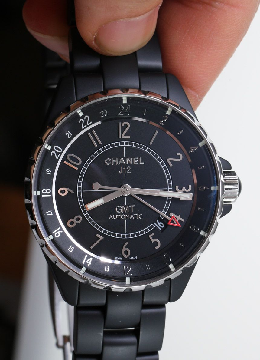 separation shoes e759a 87688 Chanel J12 GMT Matte Watch Review - Read more, watch the ...