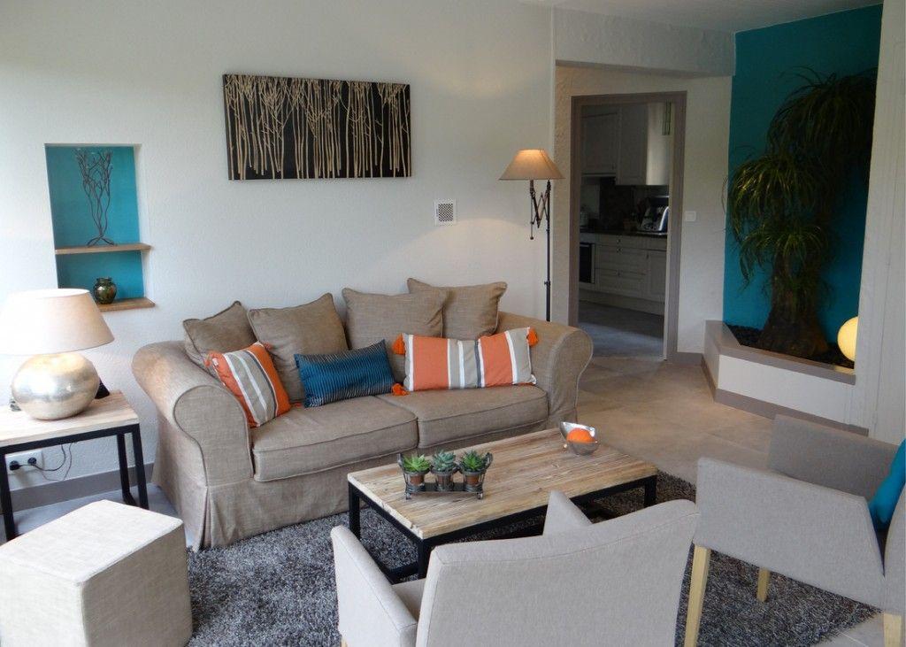 décoration salon bleu canard | prochain projet pièce ! | Pinterest ...