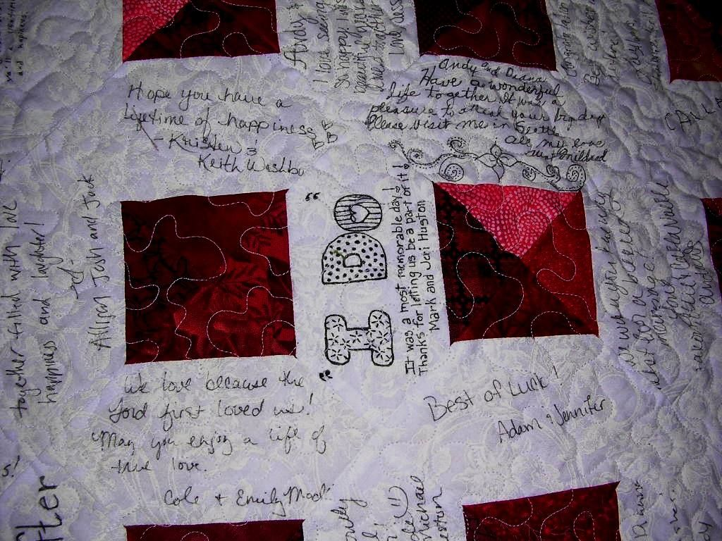 More Special Memory Quilts | Quilted Treasures | Wedding Quilt ... : quilted treasures - Adamdwight.com
