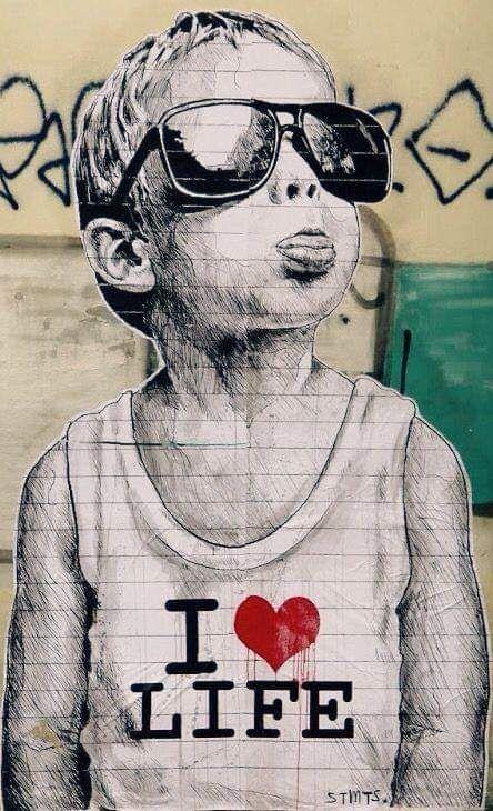 Kunst Bansky | Streetart 25 Photos