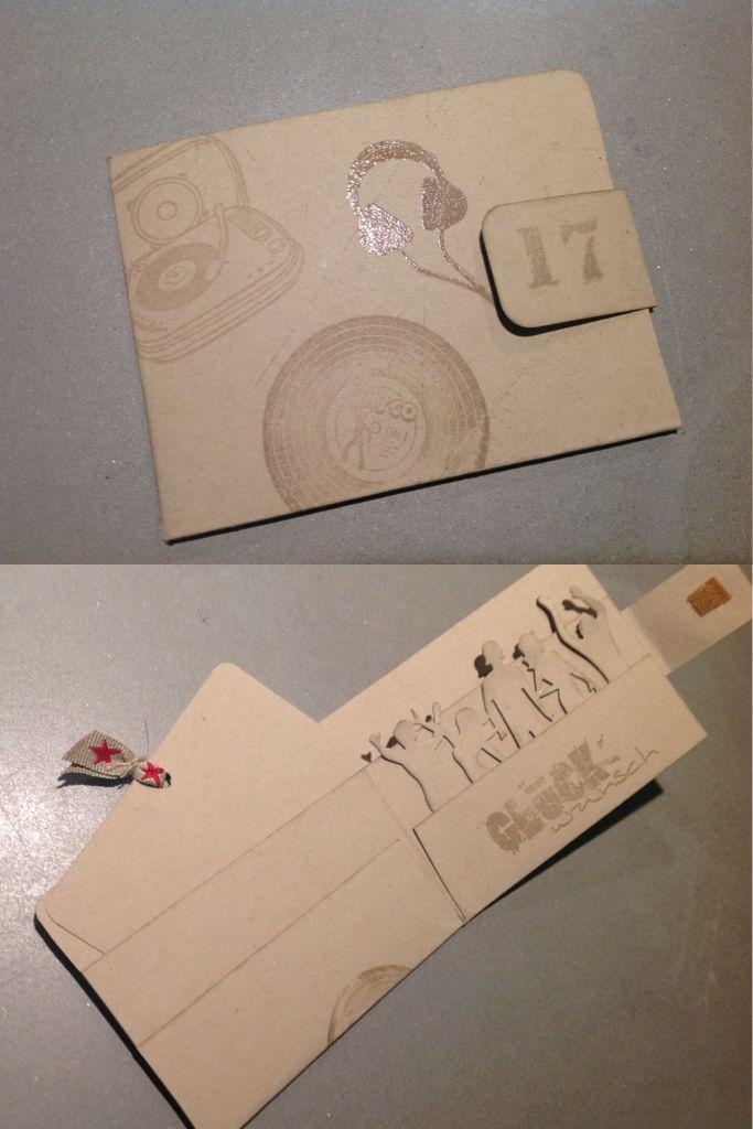 Stampin Up Geldgeschenk Portemonnaie Geldborse Dj Geschenk