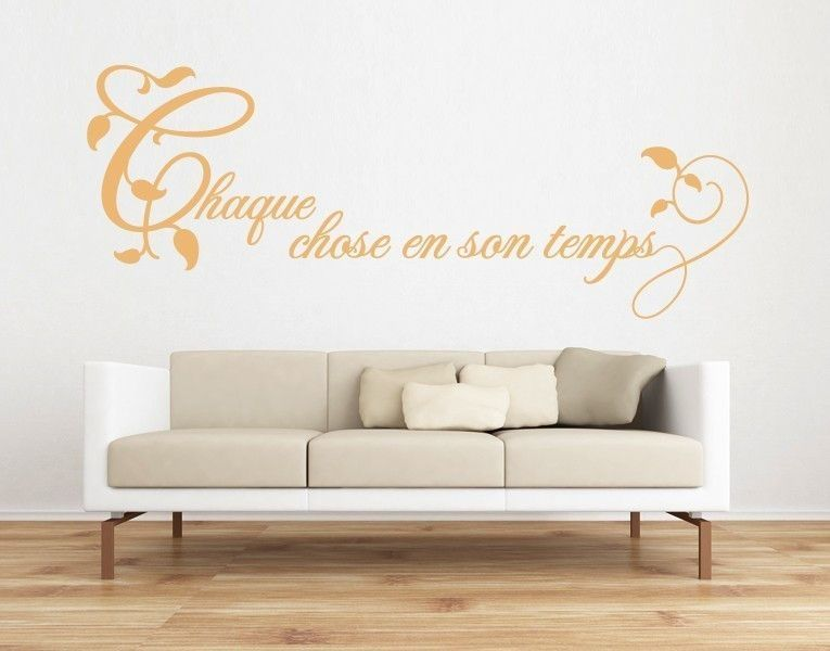 Chaque Wall Decal Quote Wall Decals White Walls French Walls